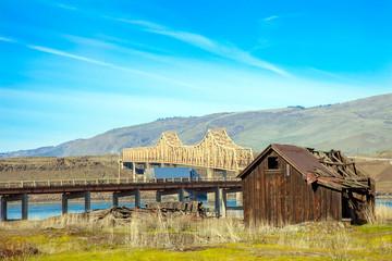 Gulick Homestead und indischen Shaker Church - The Dalles Oregon