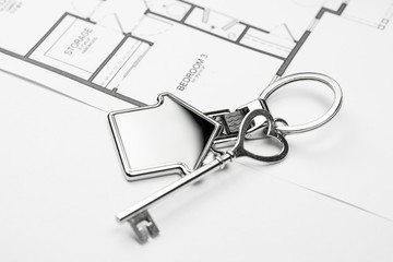 Key property market to buy or rent house