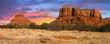 Leinwandbild Motiv Sunset Vista of Sedona, Arizona