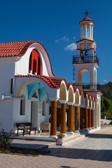 picturesque Orthodox Church, Rodos, Greece