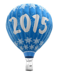 Hot Air Balloon with 2015