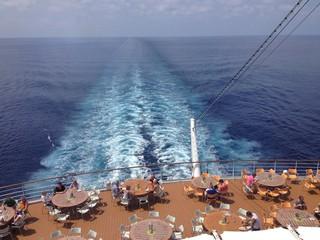 Kreuzfahrt auf dem Meer