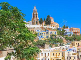 Church of the Annunciation. Harani area. The capital of the isla