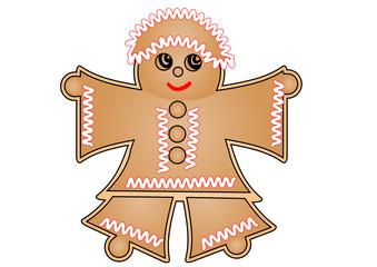 woman gingerbread