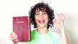 Child suggesting to read the Holy Bible