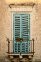 Italy, Puglia, typical house detail