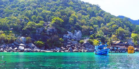 Iisland Koh Nang Yuan, Thailand. Mango Bay.
