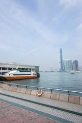 Hong Kong Victoria harbor and skyline