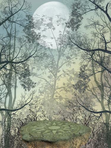 Naklejka Fantasy landscape