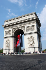 Arco di Trinfo, Parigi