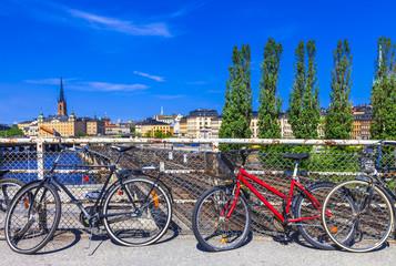 Stockholm in spring. Sweeden