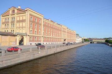 Fontanka Canal Embankment.