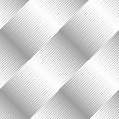 Seamless Pattern: Diagonal, Pointed Shapes