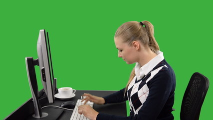 Businesswoman Shopping online with credit card