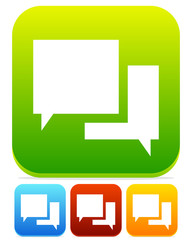 Speech Bubble Chat Icons