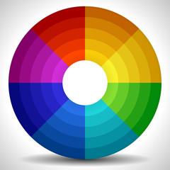 Circular Color Wheel / Color Palette