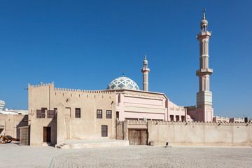 Mosque in Ajman, United Arab Emirates