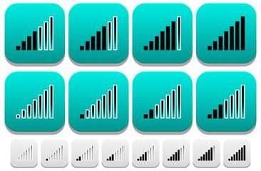Signal Strength Indicator icons