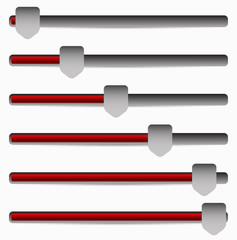 Slider, Adjuster Bars