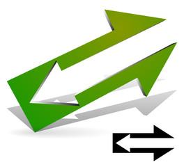 Arrow in Arrow. Symbol Included