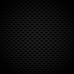 Dark Carbon-Like Background Pattern with Seamlessly Repeatable G