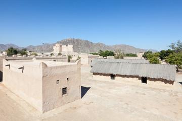 Historic fort and heritage village in Fujairah, UAE