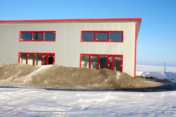 Frozen construction