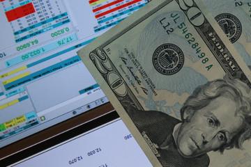 stock market and money