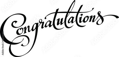 Congratulations - 80706483