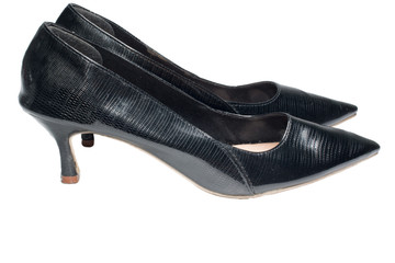 Photo of ladies black high heel shoes