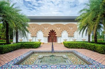 The Moroccan Pavilion in Putrajaya,Malaysia