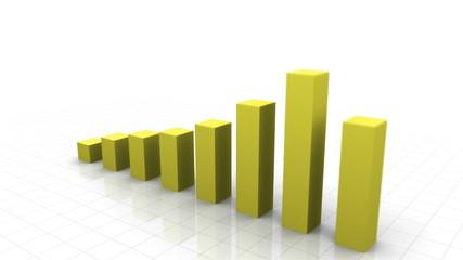 3D Growing Bar Graph