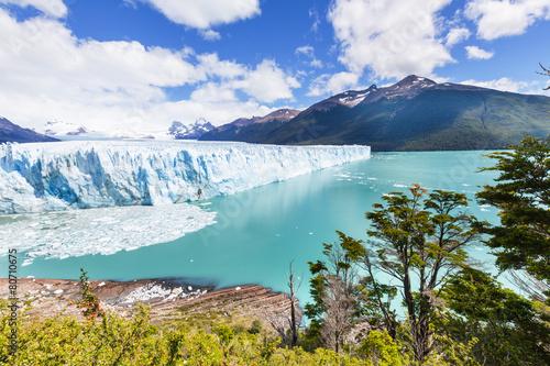 Spoed canvasdoek 2cm dik Gletsjers Glacier in Argentina