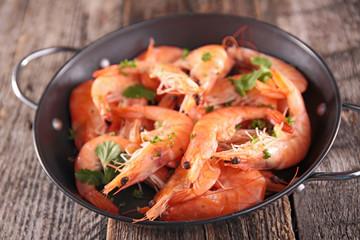 casserole with shrimp