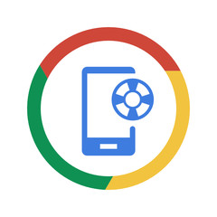 Vector Chrome Icon