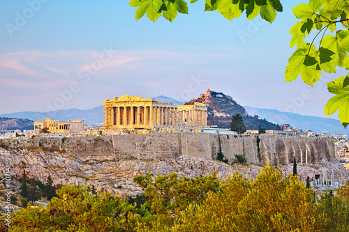 Staande foto Athene Acropolis in Athens
