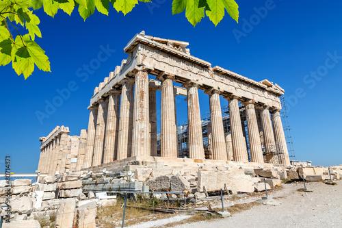 Deurstickers Athene Parthenon in Acropolis, Athens