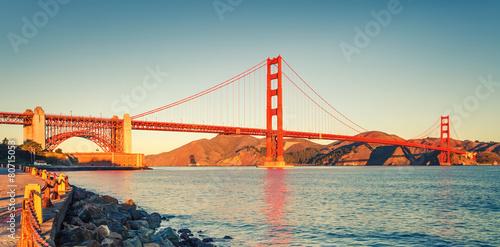 Plakát, Obraz Golden Gate Bridge
