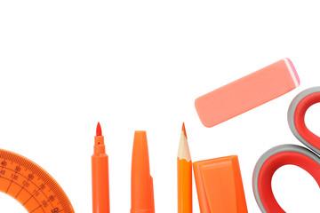 grupa school supplies orange color