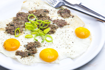 Bosnian omelette
