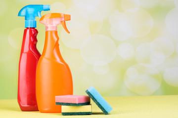 reinigungsflaschen zur desinfektion im haushalt