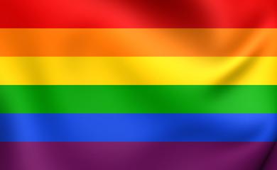 Flag of LGBT
