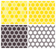 Honeycomb seamless pattern set - 80719496
