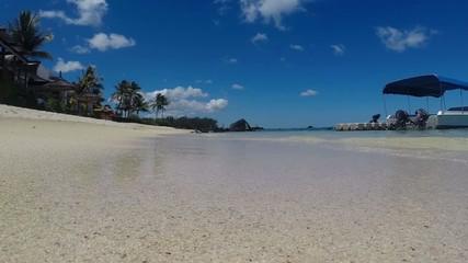 La plage Mauricienne
