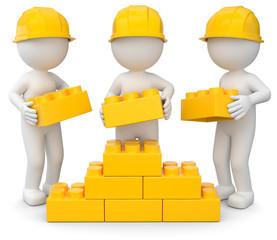 gemeinsamer Aufbau gelb