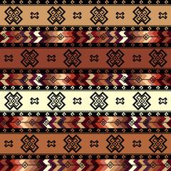 Geometric tribal pattern in aztecs style.