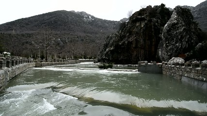 kar sularının erimesiyle oluşan taşkınlar