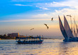 Egyptian voyage on the Nile. - 80722888