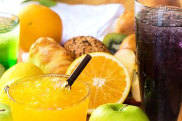 Fresh orange Juicy
