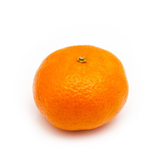 clementine on a white background